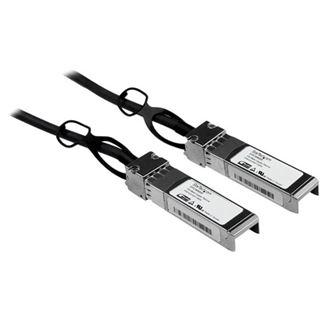 (€18,58*/1m) 5.00m Startech SFP+ Anschlusskabel SFP+ Einrast-Stecker auf SFP+ Einrast-Stecker Schwarz