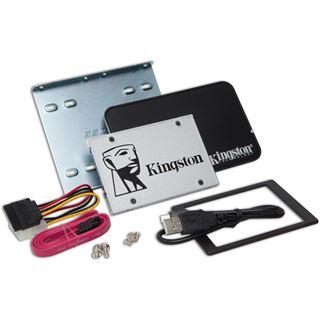 """240GB Kingston SSDNow UV400 Upgrade Kit 2.5"""" (6.4cm) SATA 6Gb/s TLC Toggle (SUV400S3B7A/240G)"""