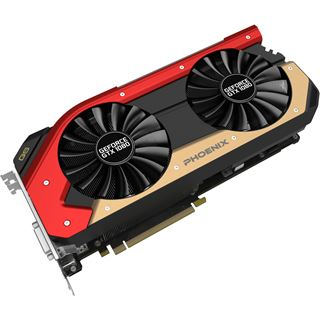 8GB Gainward GeForce GTX 1080 Phoenix Golden Sample Aktiv PCIe 3.0 x16 (Retail)