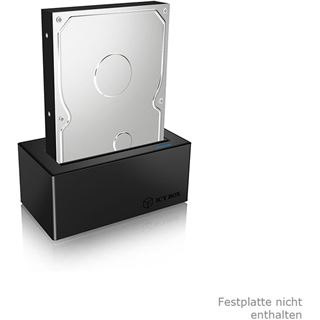 "ICY BOX IB-117-U31 Dockingstation für 2.5"" oder 3.5"""