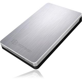 """ICY BOX IB-234U3a 2.5"""" (6,35cm) USB 3.0 silber"""