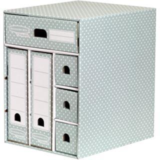 Fellowes BANKERS BOX STYLE Schreibtisch-Organizer, grün/weiß