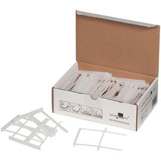 smartboxpro Archiv-Abheftbügel, weiß, zweiteilig