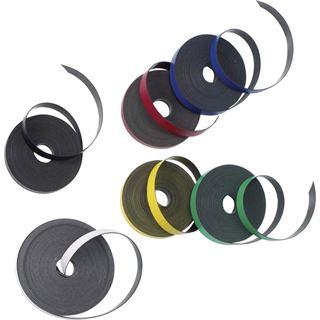 Nobo Magnetband, selbstklebend, 10 mm x 10 m, schwarz
