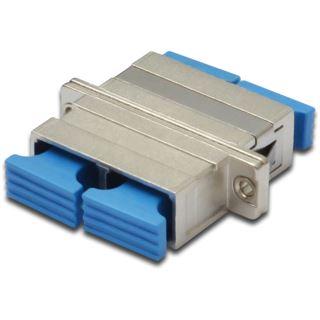 () 0.00m Digitus LWL Duplex Adapter Keramilhülse SC Buchse auf PC Buchse Metall