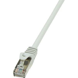 (€0,98*/1m) 5.00m LogiLink Cat. 6 Patchkabel F/UTP RJ45 Stecker auf RJ45 Stecker Grau vergoldet