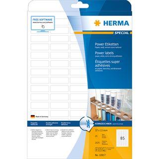 HERMA Power Etiketten SPECIAL, 37 x 13 mm, weiß