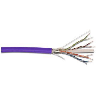 (€0,50*/1m) 305.00m Digitus Cat. 6 Verlegekabel U/UTP Violett halogenfrei / LSOH