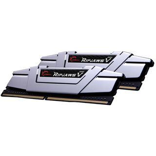 16GB G.Skill RipJaws V silber DDR4-3200 DIMM CL16 Dual Kit