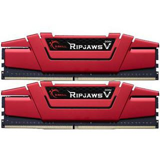 16GB G.Skill RipJaws V rot DDR4-2800 DIMM CL17 Dual Kit