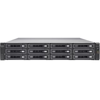 QNAP TVS-EC1280U-SAS-RP-8GE-R2 ohne Festplatten
