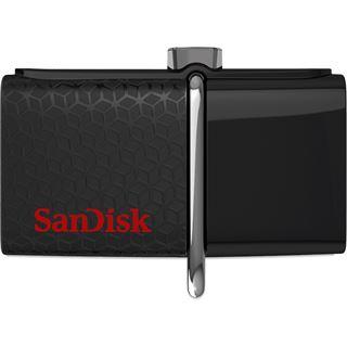 32 GB SanDisk Dual Ultra schwarz/rot USB 3.0