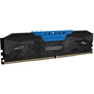 16GB PNY Anarchy blau DDR4-2133 DIMM CL15 Dual Kit