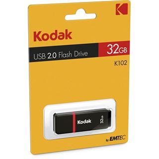 32 GB Kodak USB-Stick schwarz/rot USB 2.0