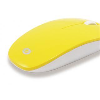 Conceptronic CLLM3BDESKY USB gelb (kabelgebunden)