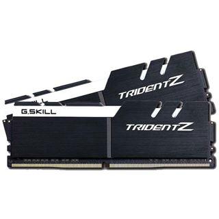 32GB G.Skill Trident Z schwarz/weiß DDR4-3200 DIMM CL15 Dual Kit
