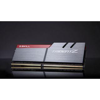 16GB G.Skill Trident Z silber/rot DDR4-3333 DIMM CL16 Dual Kit