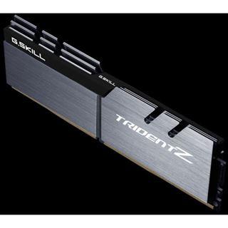 16GB G.Skill Trident Z silber/schwarz DDR4-3333 DIMM CL16 Dual Kit