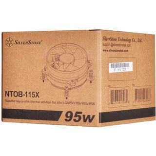 Silverstone Nitrogon NT08-115X Topblow Kühler