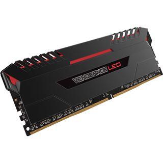 64GB Corsair Vengeance LED rot DDR4-3200 DIMM CL16 Quad Kit