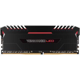 16GB Corsair Vengeance LED rot DDR4-2666 DIMM CL16 Dual Kit