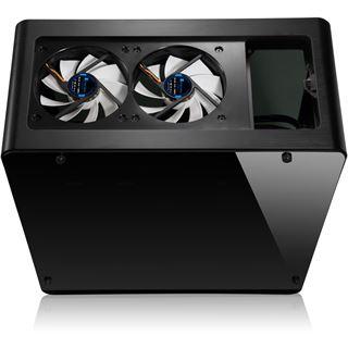 Cooltek UMX4 mit Sichtfenster Midi Tower ohne Netzteil schwarz