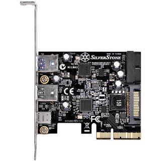 Silverstone SST-ECU05, 1x USB3.1 Typ-C + 2x USB3.0 + 2x intern USB3.0 - PCIe