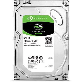 "2000GB Seagate BarraCuda ST2000DM006 64MB 3.5"" (8.9cm) SATA 6Gb/s"