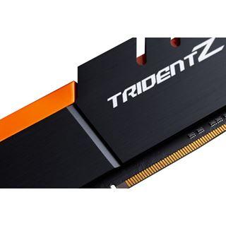 32GB G.Skill Trident Z schwarz/orange DDR4-3200 DIMM CL16 Dual Kit