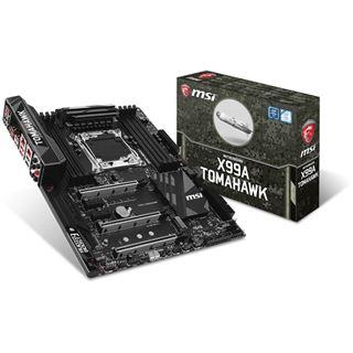 MSI X99A Tomahawk Intel X99 So.2011-3 Quad Channel DDR4 ATX Retail