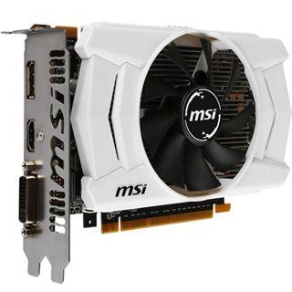 2GB MSI GeForce GTX 950 OCV2 Aktiv PCIe 3.0 x16 (Retail)