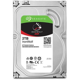 "2000GB Seagate IronWolf ST2000VN004 64MB 3.5"" (8.9cm) SATA 6Gb/s"