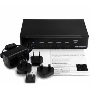 Startech SV431DPU3A2 4-fach DisplayPort KVM Switch