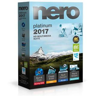 Nero 2017 Platinum 32 Bit Deutsch Brennprogramm Vollversion PC (CD)