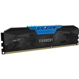 16GB PNY Anarchy blau DDR3-1600 DIMM CL9 Dual Kit