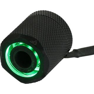 Nanoxia PETG Starter Pack - 16/13 LED Green