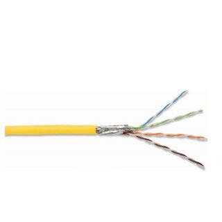 500.00m Digitus Cat. 7 Rohkabela Verlegekabel S/FTP Gelb LSOH / Twisted Pair
