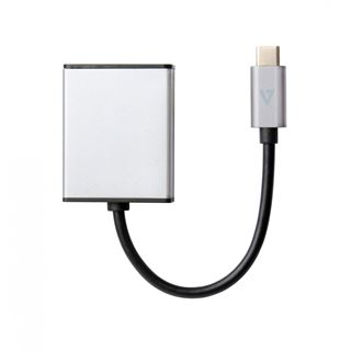 V7 USB-C TO DP ADAPTER GREY