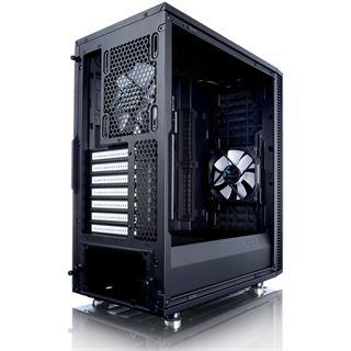 Fractal Design Define C gedämmt mit Sichtfenster Midi Tower ohne Netzteil schwarz