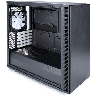 Fractal Design Define Mini C gedämmt mit Sichtfenster Mini Tower ohne Netzteil schwarz