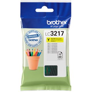 Brother Tinte LC3217Y LC3217Y gelb
