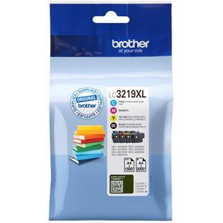 Brother Tinte LC3219XL LC3219XLVALDR schwarz, cyan, magenta