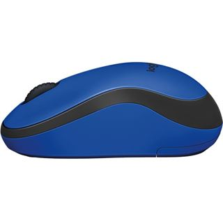 Logitech M220 Silent USB schwarz/blau (kabellos)