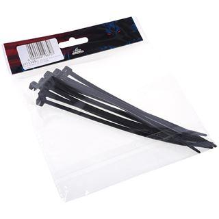 Phobya Kabelbinder schwarz 4,8x160mm 10St.