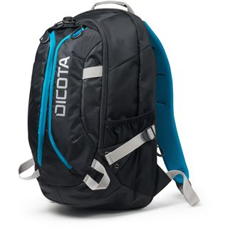 "Dicota Backpack Active 15-17.3"" black/blue"