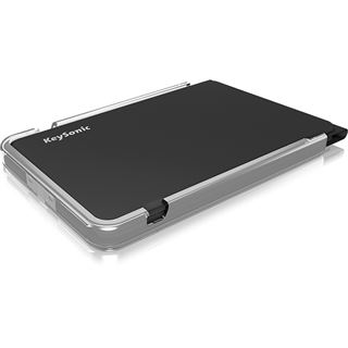 KeySonic KSK-3010BT Bluetooth Deutsch schwarz (kabellos)
