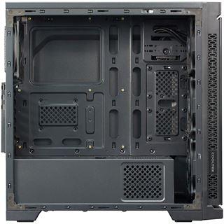 Cooltek TG-01 RGB mit Sichtfenster Midi Tower ohne Netzteil schwarz