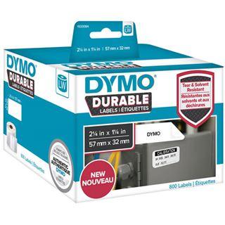 DYMO 1933084 57x32mm Kunstoff weiß