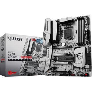 MSI Z270 XPower Gaming Titanium Intel Z270 So.1151 Dual Channel DDR4