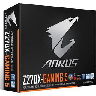 Gigabyte AORUS GA-Z270X-Gaming 5 Intel Z270 So.1151 Dual Channel DDR